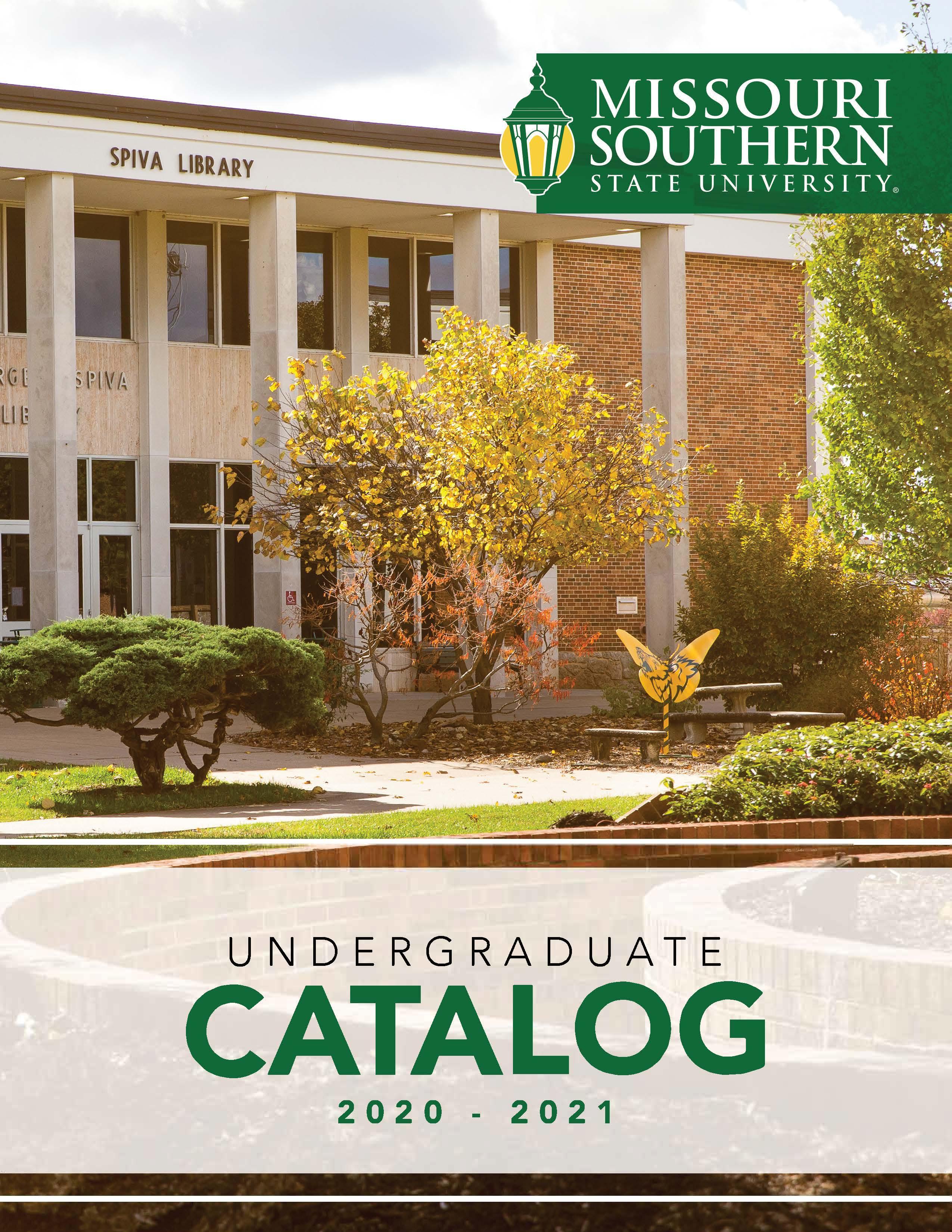 Mssu Fall 2021 Calendar Missouri Southern State University   Acalog ACMS™